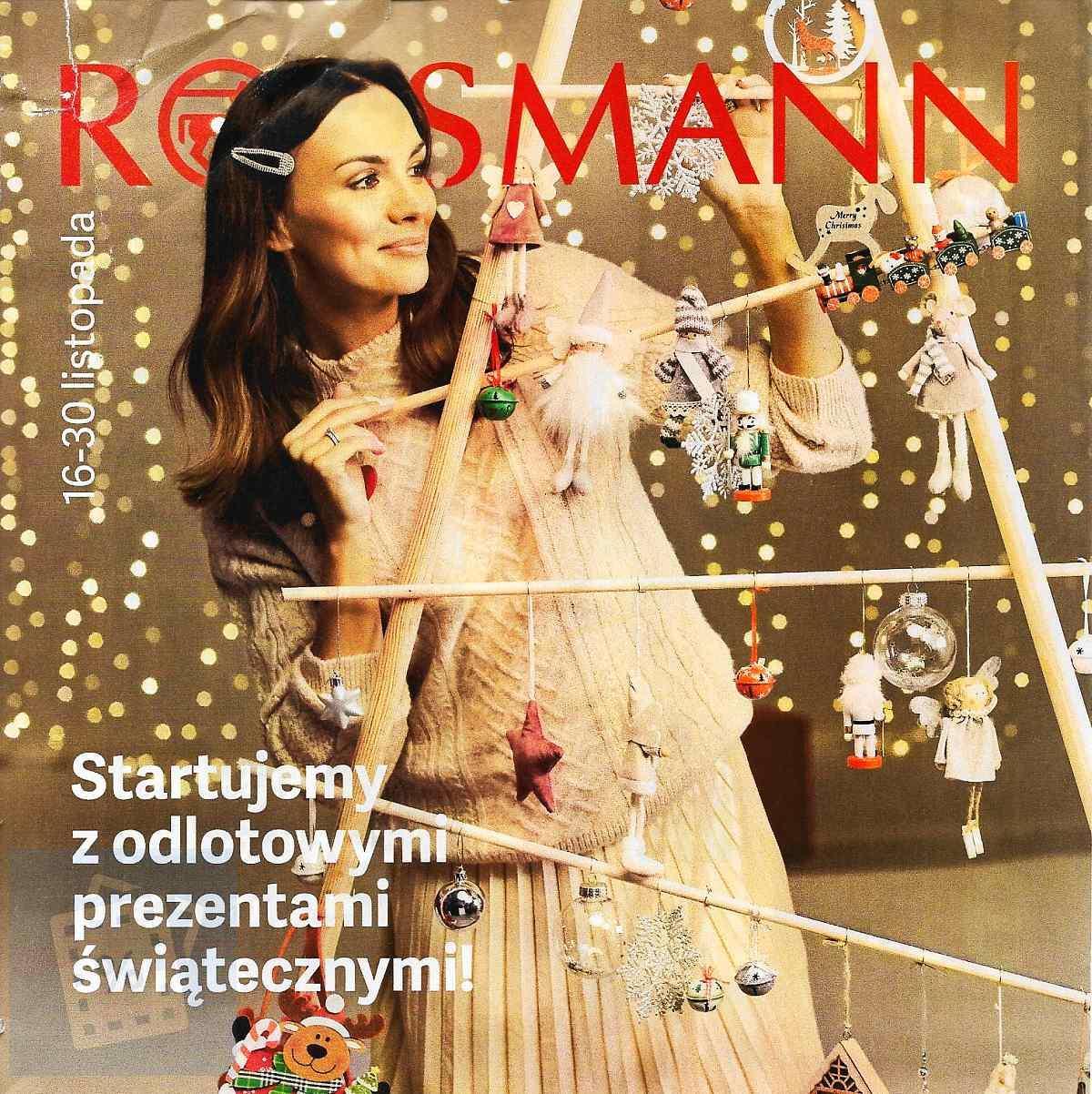 Gazetka promocyjna Rossmann do 30/11/2019 str.1