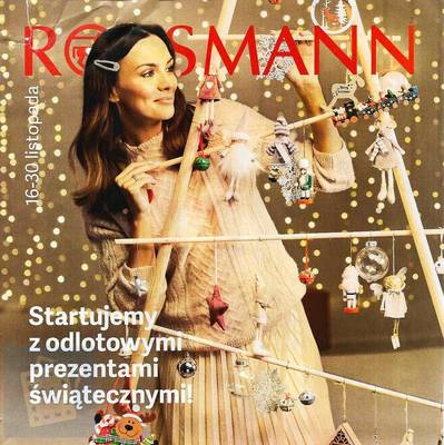 Rossmann gazetka  - od 16/11/2019 do 30/11/2019