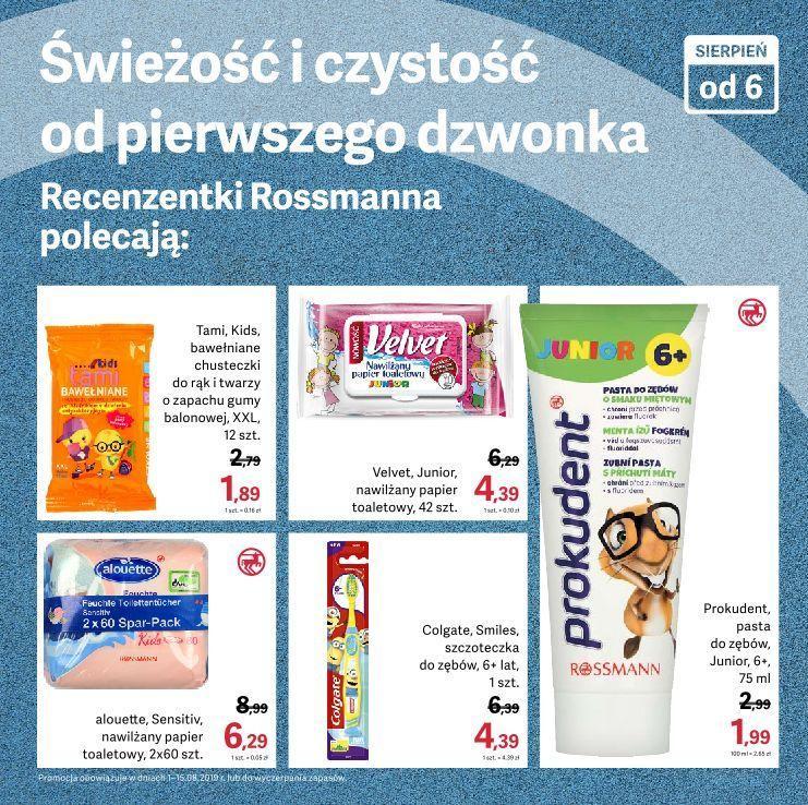 Gazetka promocyjna Rossmann do 15/08/2019 str.6