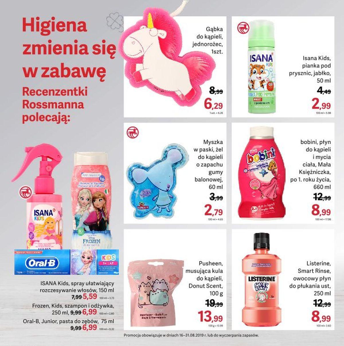 Gazetka promocyjna Rossmann do 31/08/2019 str.6