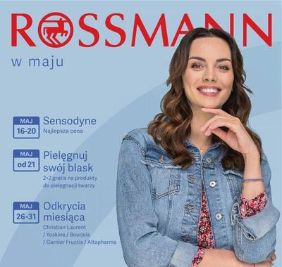 Rossmann gazetka - od 16/05/2019 do 31/05/2019