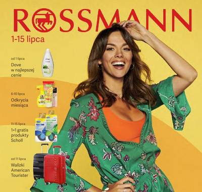Rossmann gazetka - od 01/07/2019 do 15/07/2019