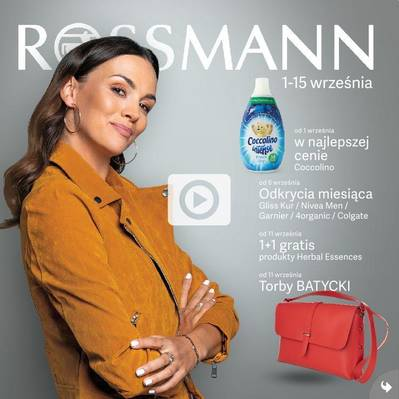 Rossmann gazetka - od 01/09/2019 do 15/09/2019