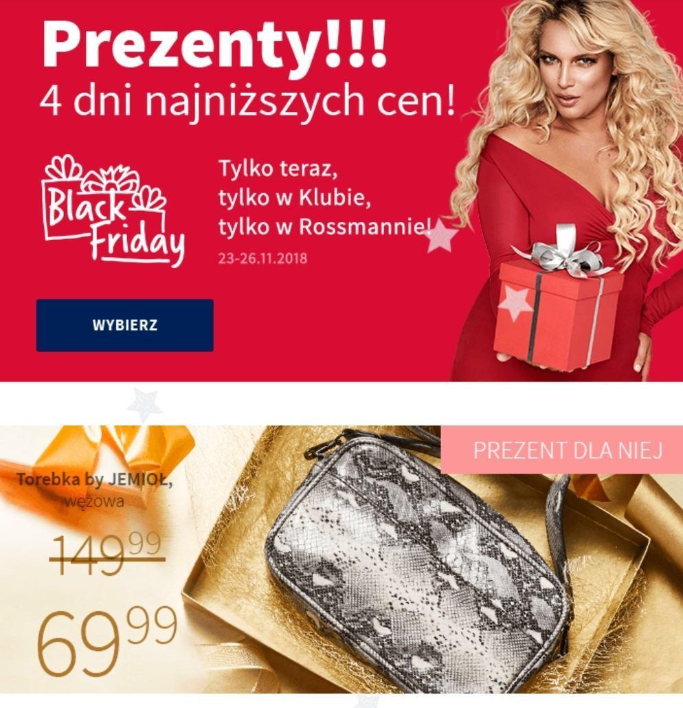 Gazetka promocyjna Rossmann do 26/11/2018 str.1