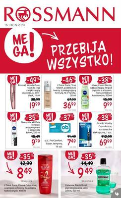 Rossmann gazetka - od 16/09/2020 do 30/09/2020