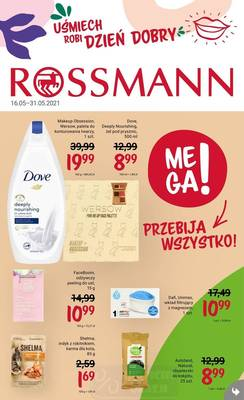 Rossmann gazetka  - od 15/05/2021 do 31/05/2021