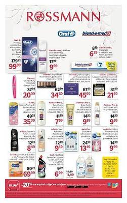 Rossmann gazetka  - od 20/10/2018 do 29/10/2018