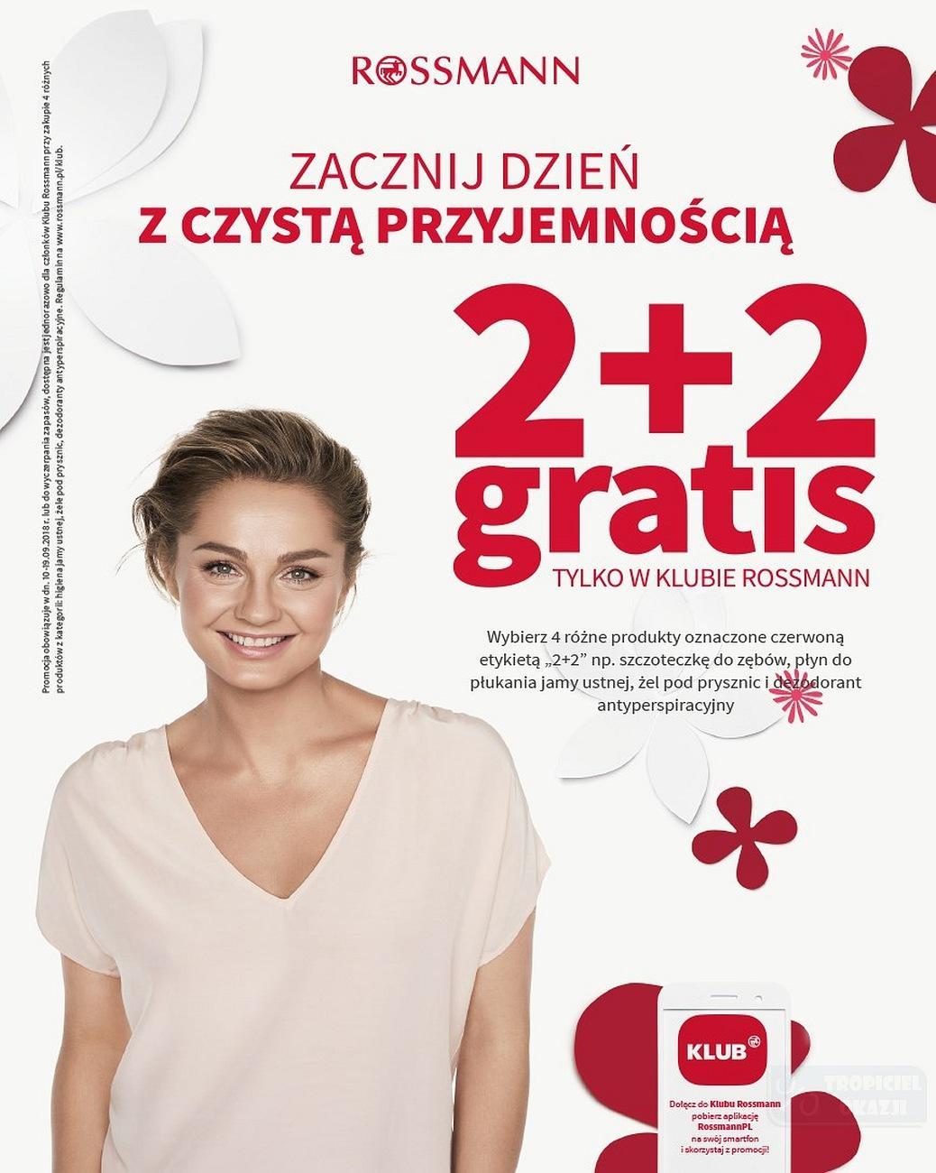 Gazetka promocyjna Rossmann do 19/09/2018 str.1