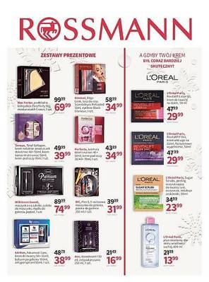 Rossmann gazetka - od 10/12/2018 do 18/12/2018