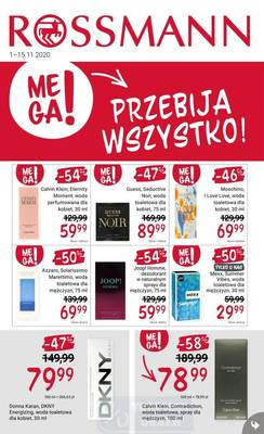 Rossmann gazetka - od 01/11/2020 do 15/11/2020