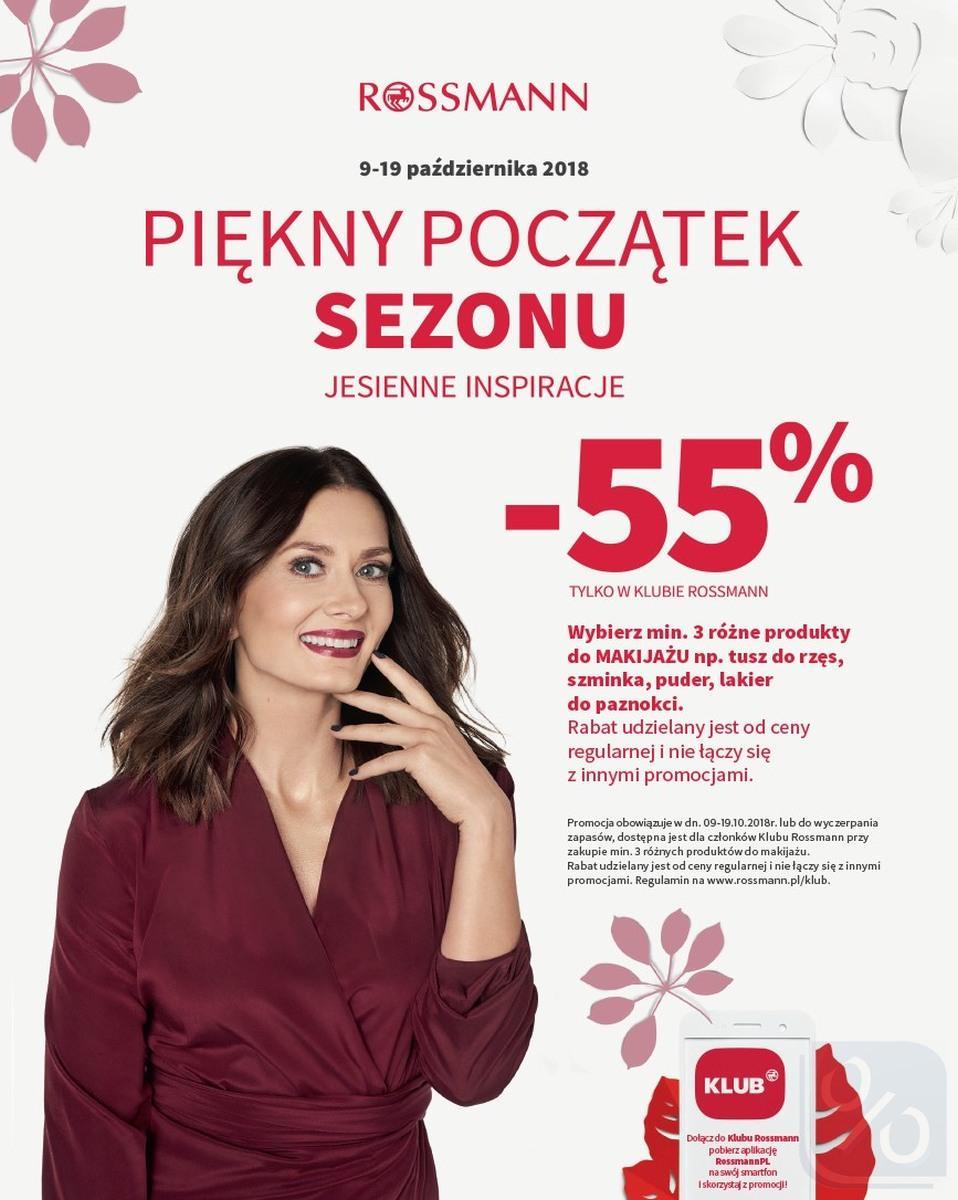 Gazetka promocyjna Rossmann do 31/10/2018 str.15