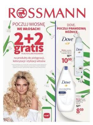 Rossmann gazetka - od 10/03/2018 do 19/03/2018
