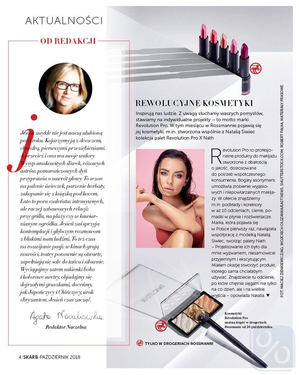 Gazetka promocyjna Rossmann do 31/10/2018 str.4