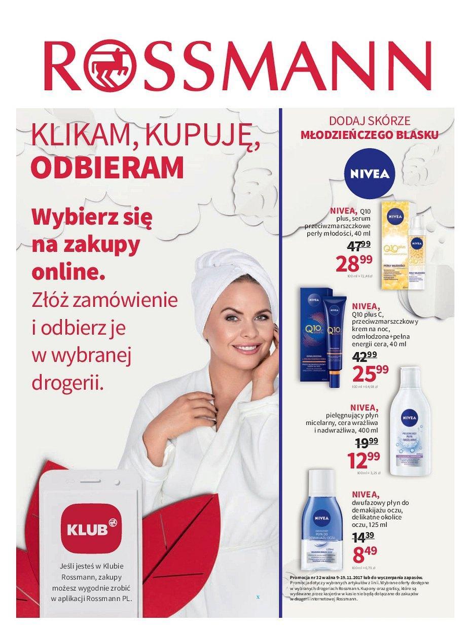 Gazetka promocyjna Rossmann do 19/11/2017 str.0