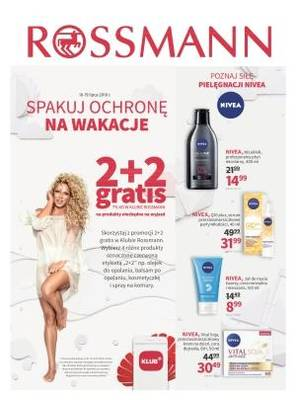 Rossmann gazetka - od 10/07/2018 do 19/07/2018