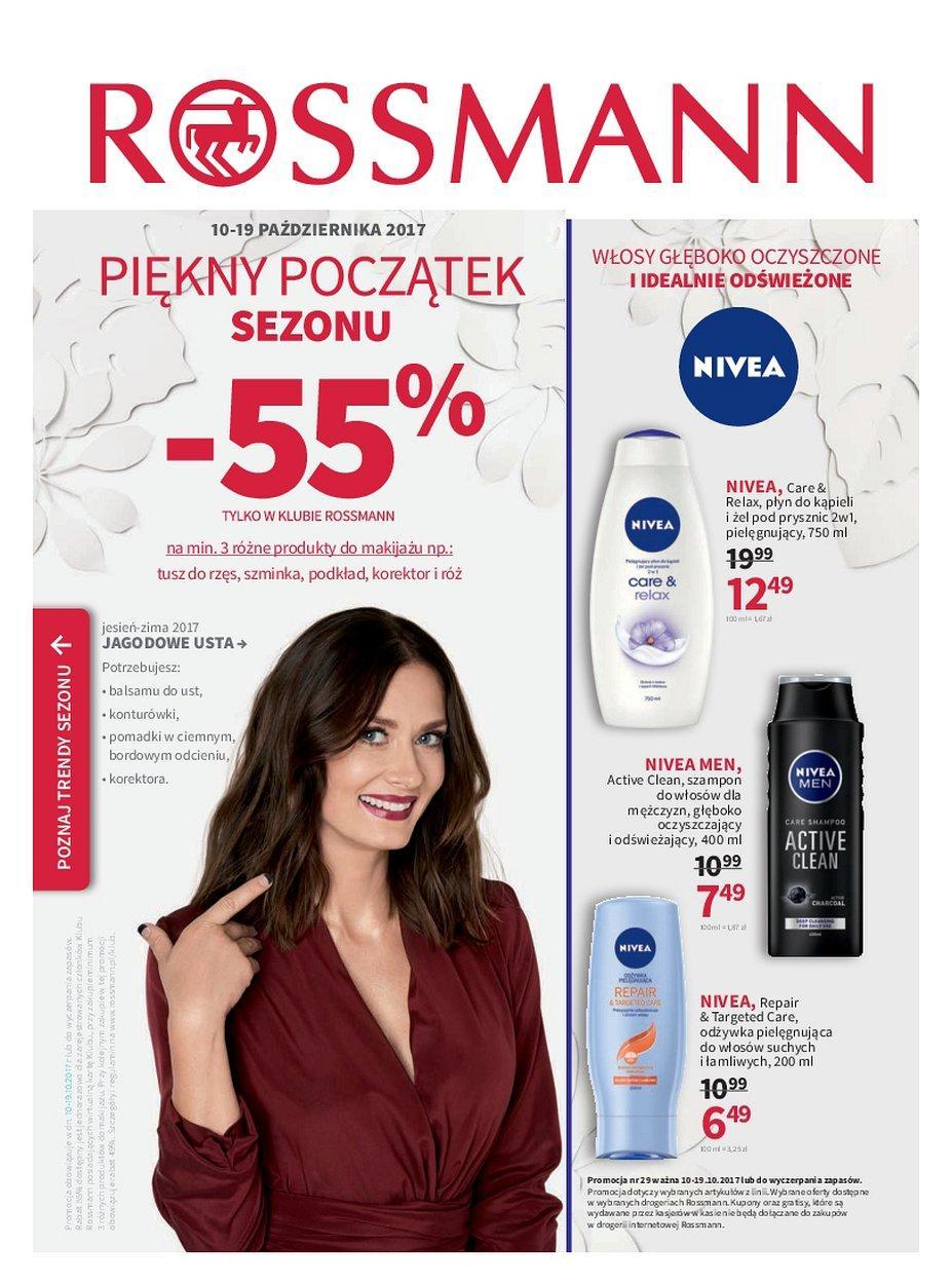 Gazetka promocyjna Rossmann do 19/10/2017 str.0