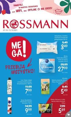 Rossmann gazetka - od 01/10/2021 do 15/10/2021