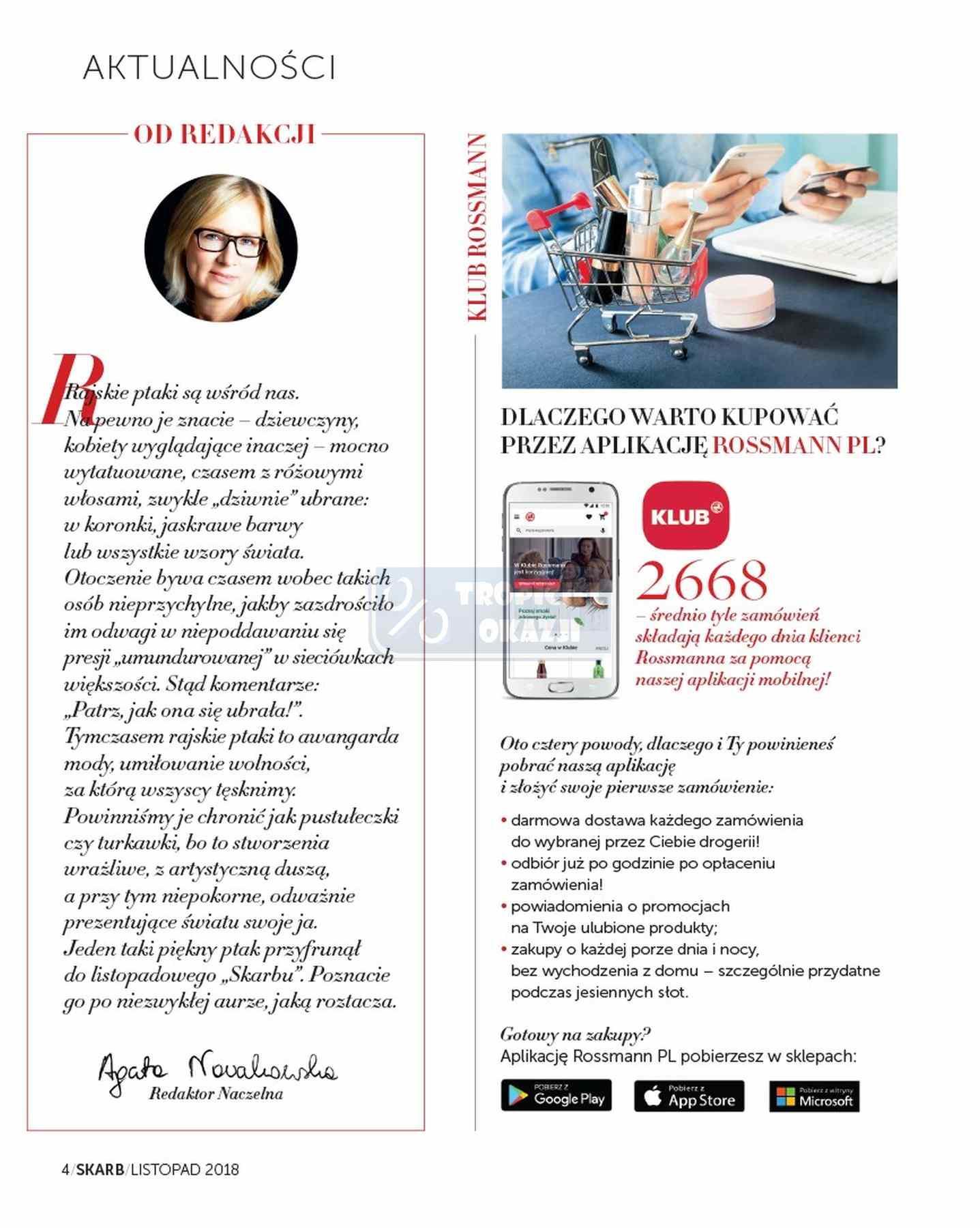 Gazetka promocyjna Rossmann do 30/11/2018 str.4