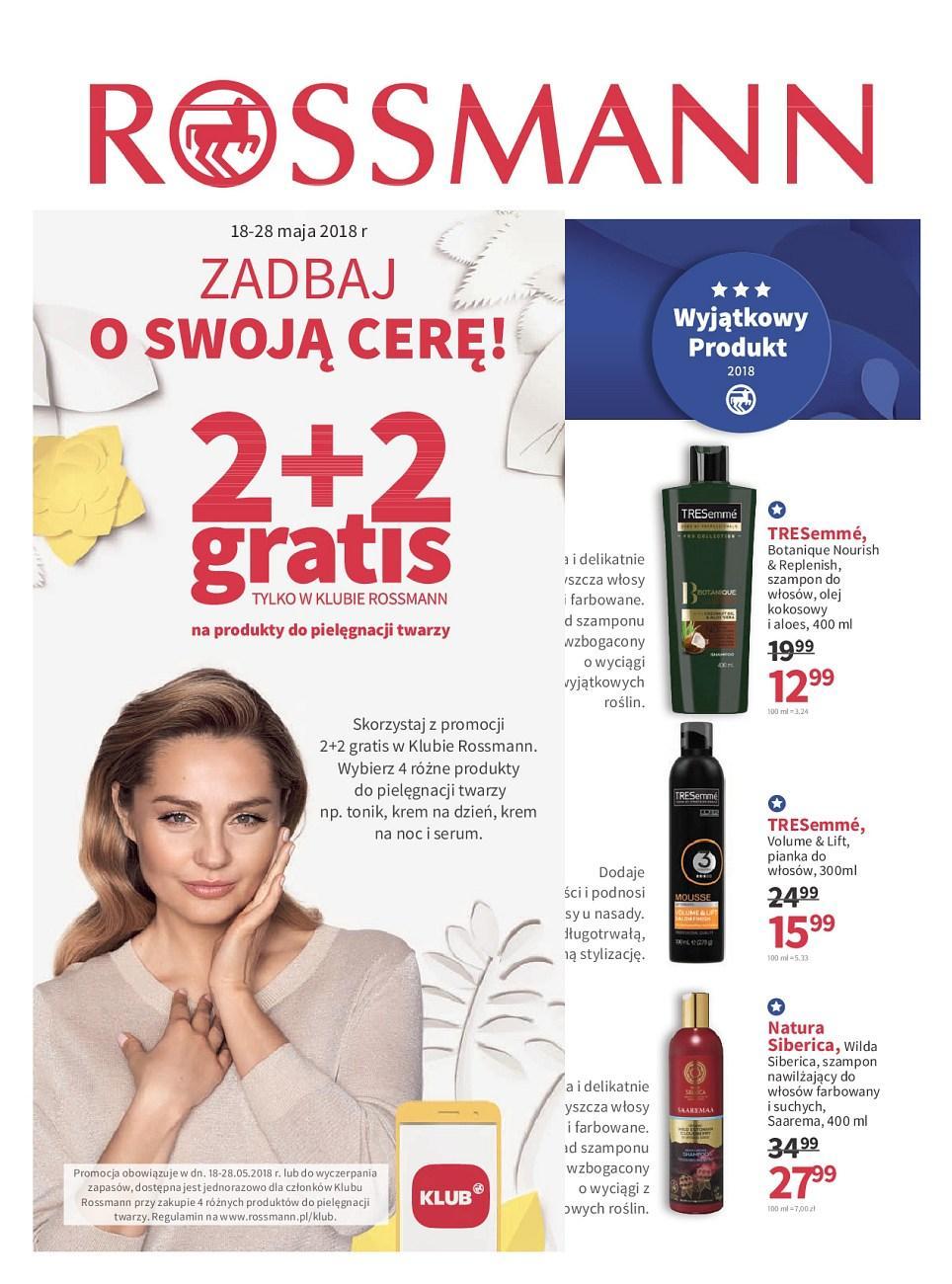 Gazetka promocyjna Rossmann do 28/05/2018 str.1