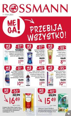 Rossmann gazetka - od 01/01/2021 do 15/01/2021