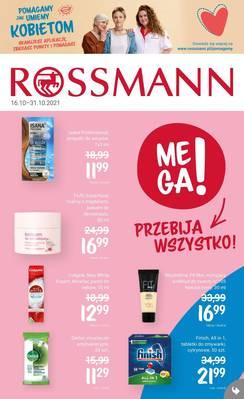 Rossmann gazetka - od 16/10/2021 do 31/10/2021