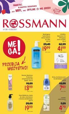 Rossmann gazetka - od 01/08/2021 do 15/08/2021