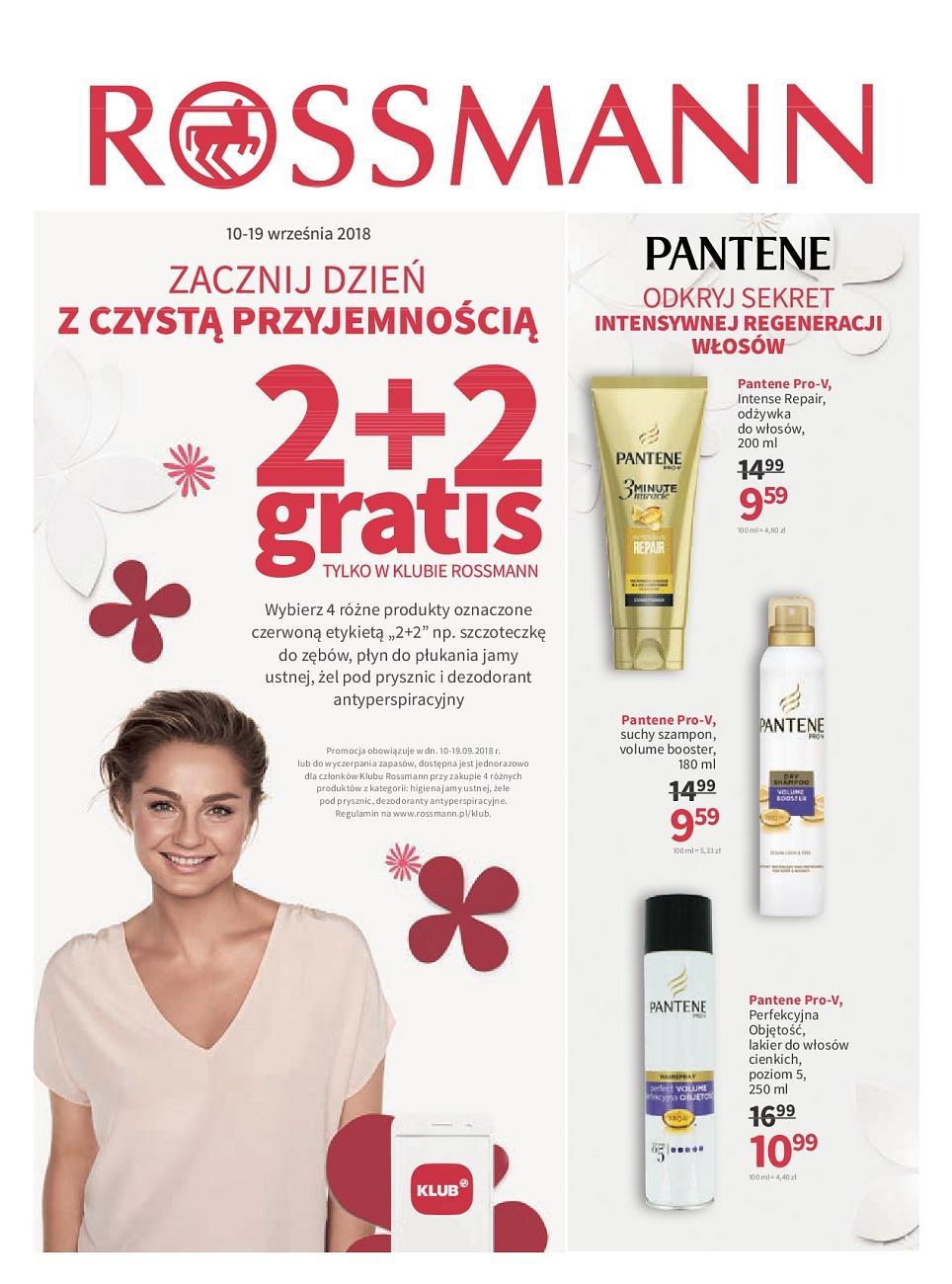 Gazetka promocyjna Rossmann do 19/09/2018 str.0