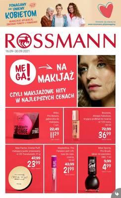 Rossmann gazetka - od 16/09/2021 do 30/09/2021