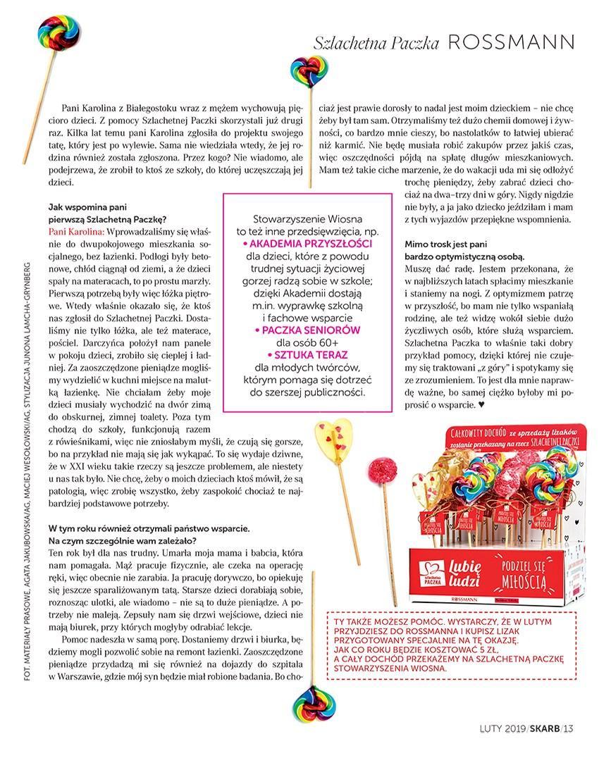 Gazetka promocyjna Rossmann do 28/02/2019 str.13