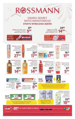 Rossmann gazetka - od 19/01/2019 do 29/01/2019