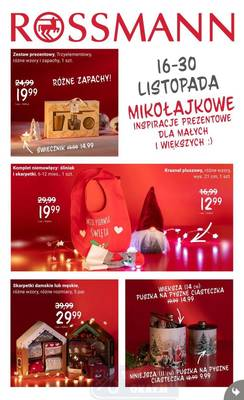 Rossmann gazetka - od 16/11/2020 do 30/11/2020