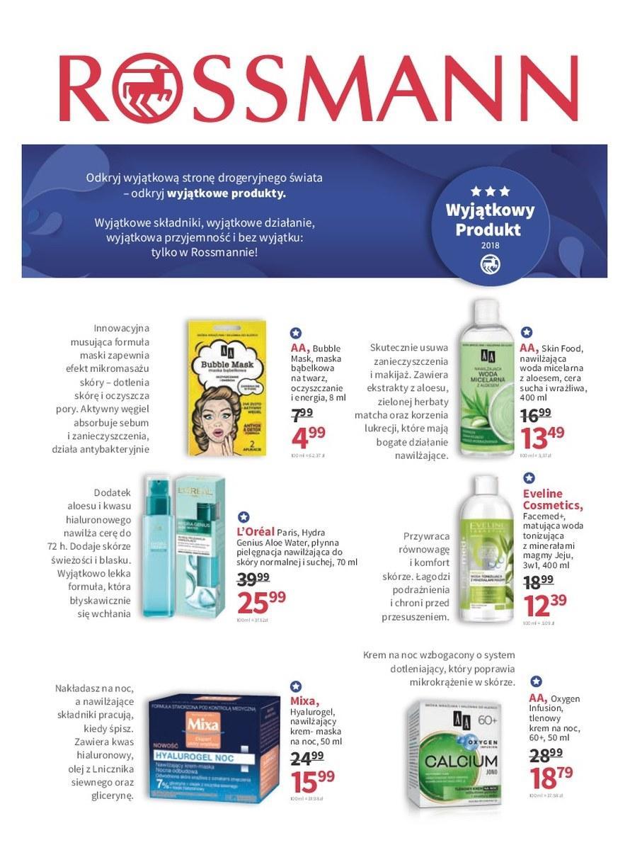 Gazetka promocyjna Rossmann do 19/06/2018 str.3