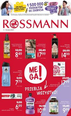Rossmann gazetka  - od 01/04/2021 do 15/04/2021