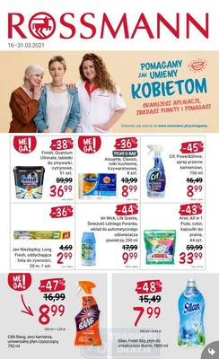 Rossmann gazetka  - od 16/03/2021 do 31/03/2021