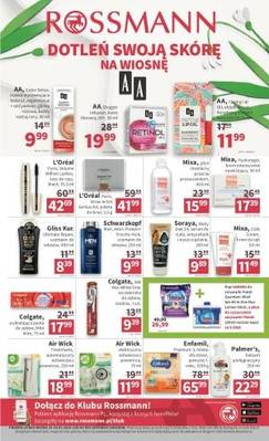 Rossmann gazetka - od 20/03/2018 do 29/03/2018