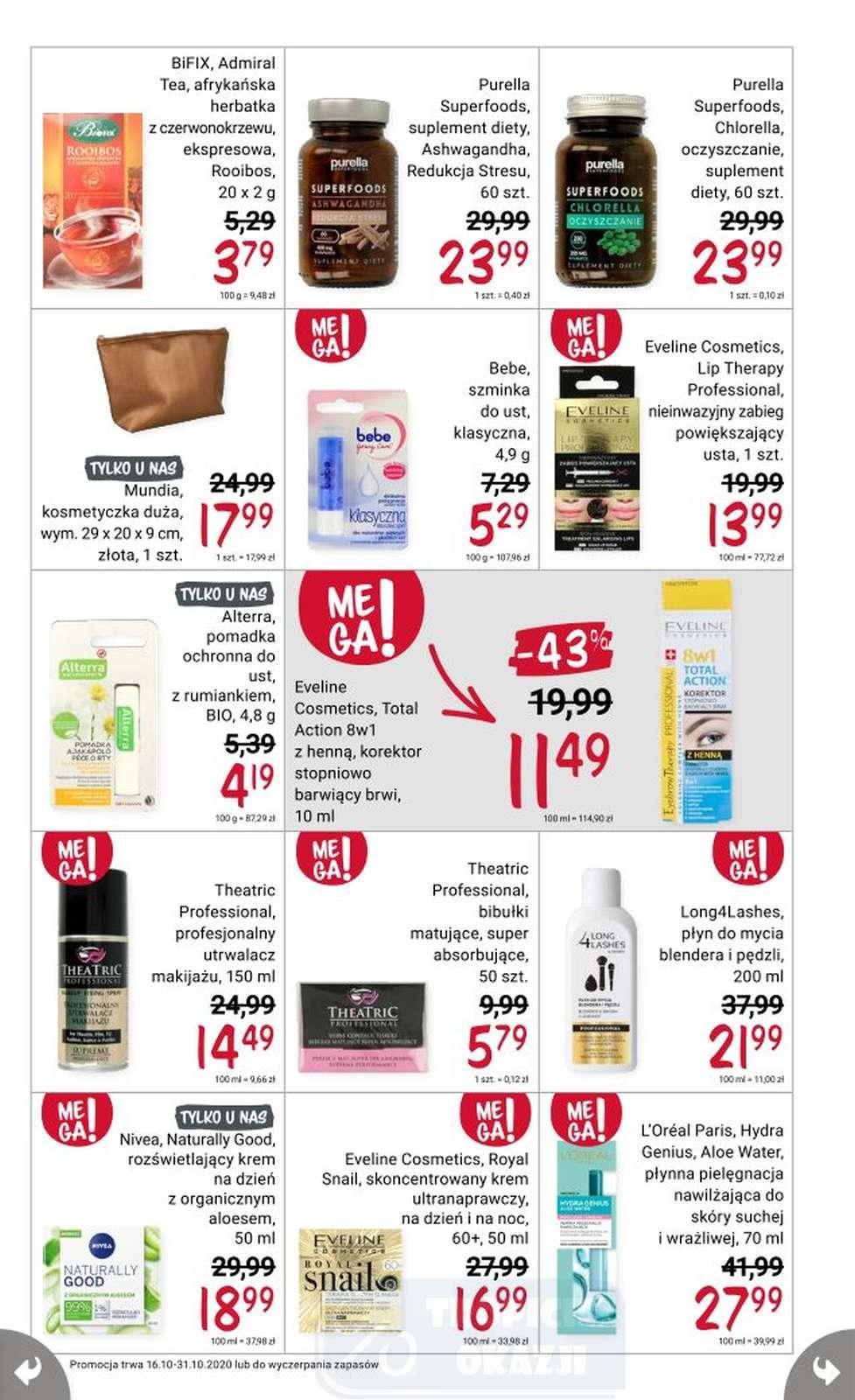 Gazetka promocyjna Rossmann do 31/10/2020 str.19
