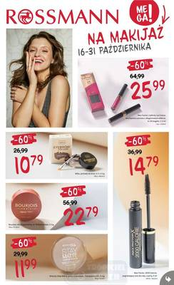 Rossmann gazetka  - od 16/10/2020 do 31/10/2020