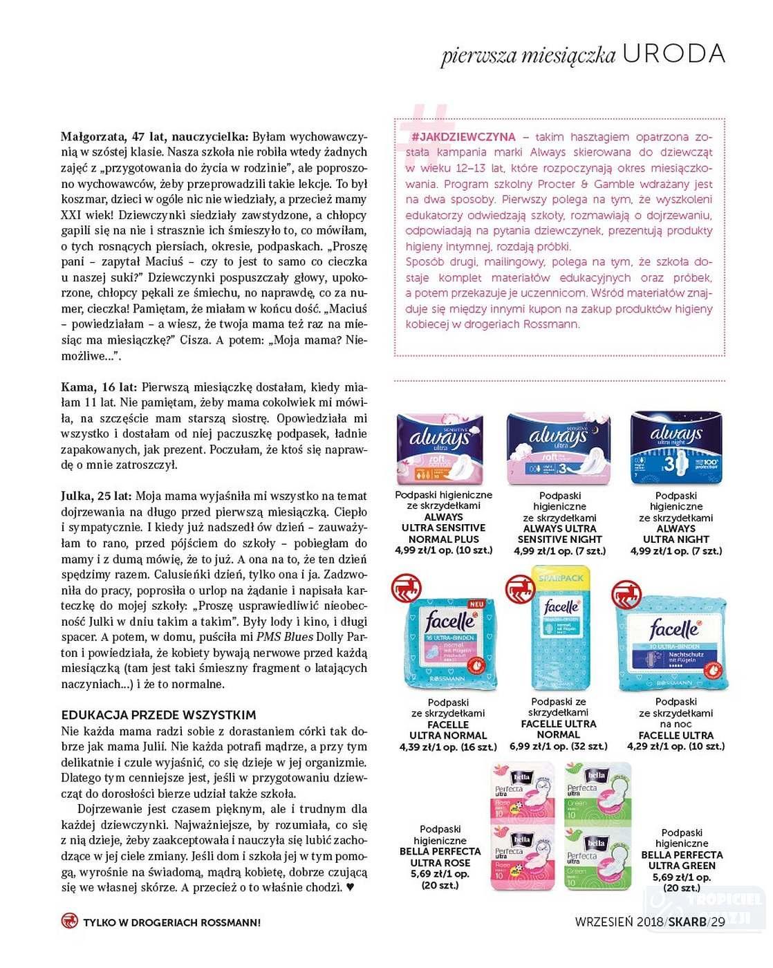 Gazetka promocyjna Rossmann do 30/09/2018 str.29