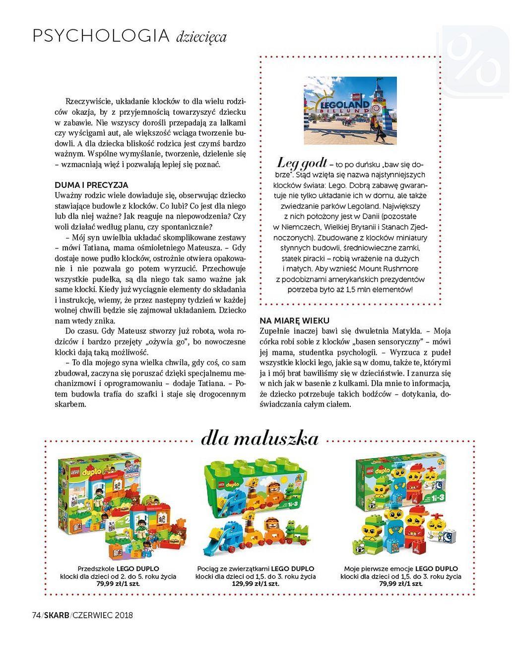 Gazetka promocyjna Rossmann do 30/06/2018 str.73