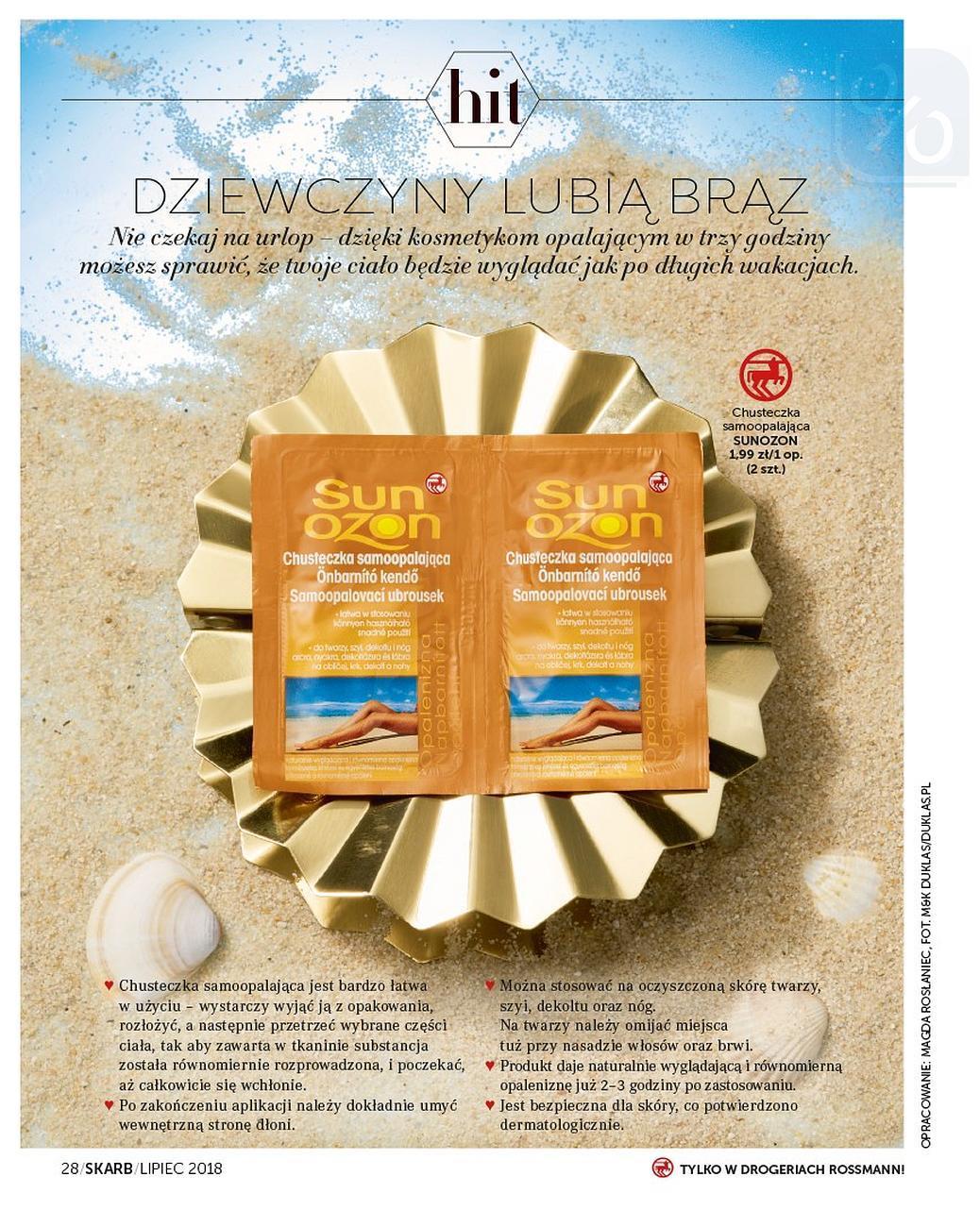 Gazetka promocyjna Rossmann do 31/07/2018 str.28