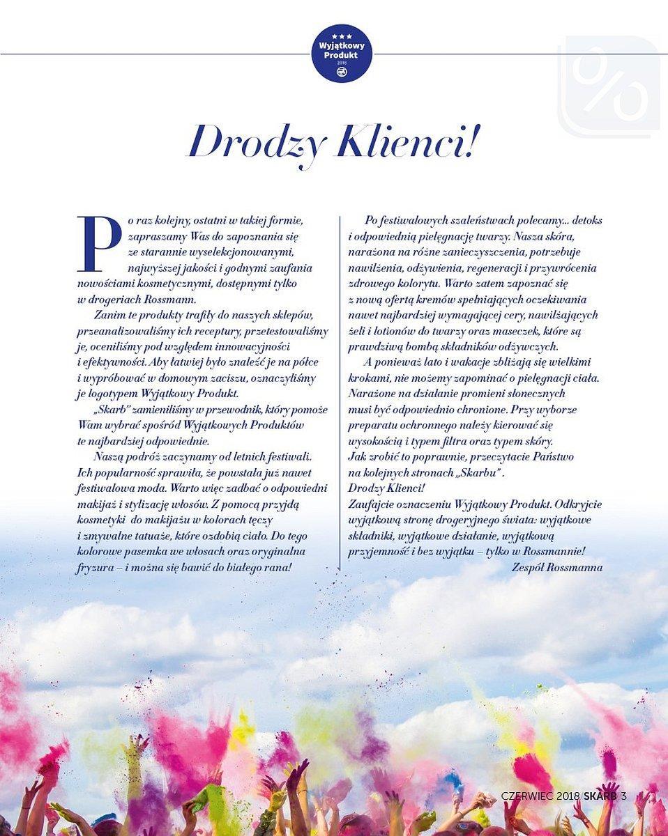 Gazetka promocyjna Rossmann do 30/06/2018 str.2