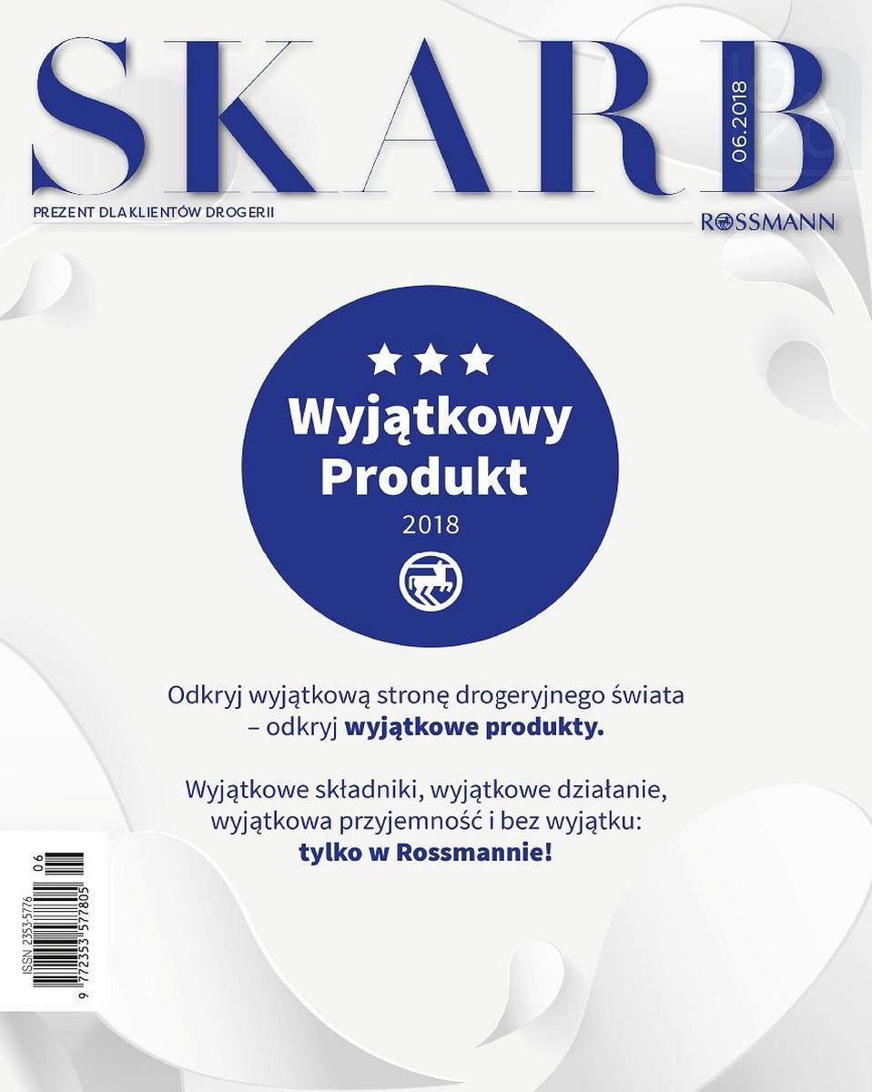 Gazetka promocyjna Rossmann do 30/06/2018 str.1