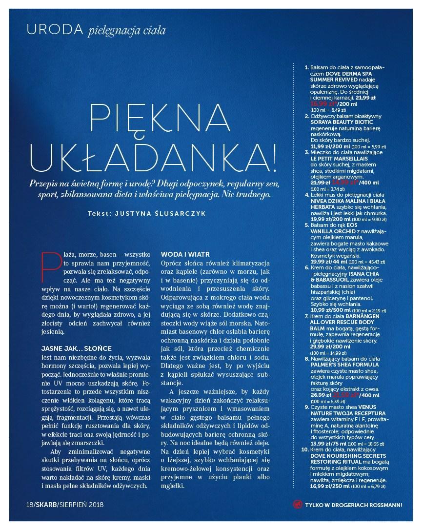 Gazetka promocyjna Rossmann do 31/08/2018 str.17