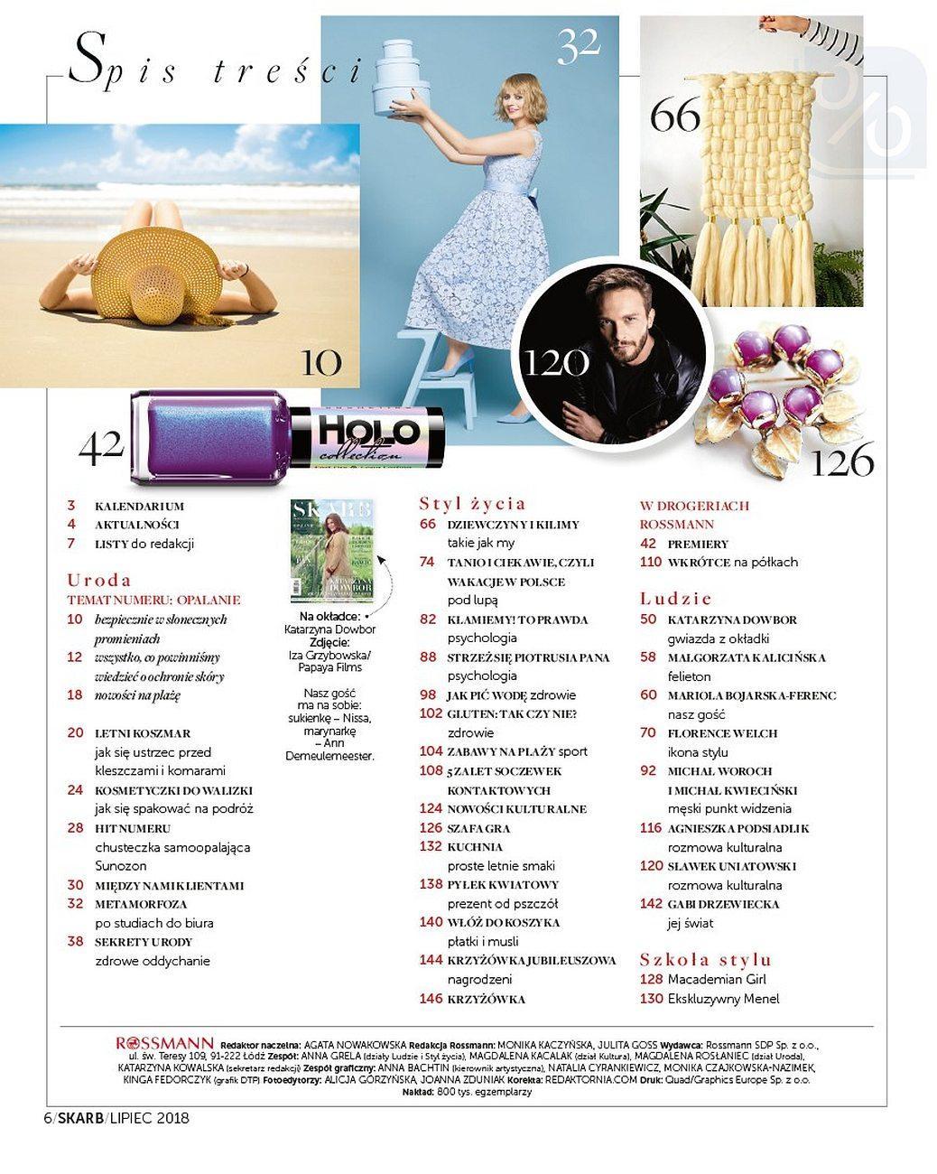 Gazetka promocyjna Rossmann do 31/07/2018 str.6