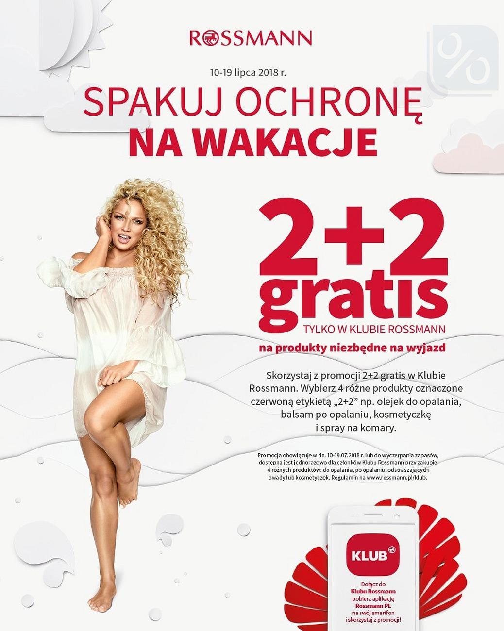 Gazetka promocyjna Rossmann do 31/07/2018 str.14