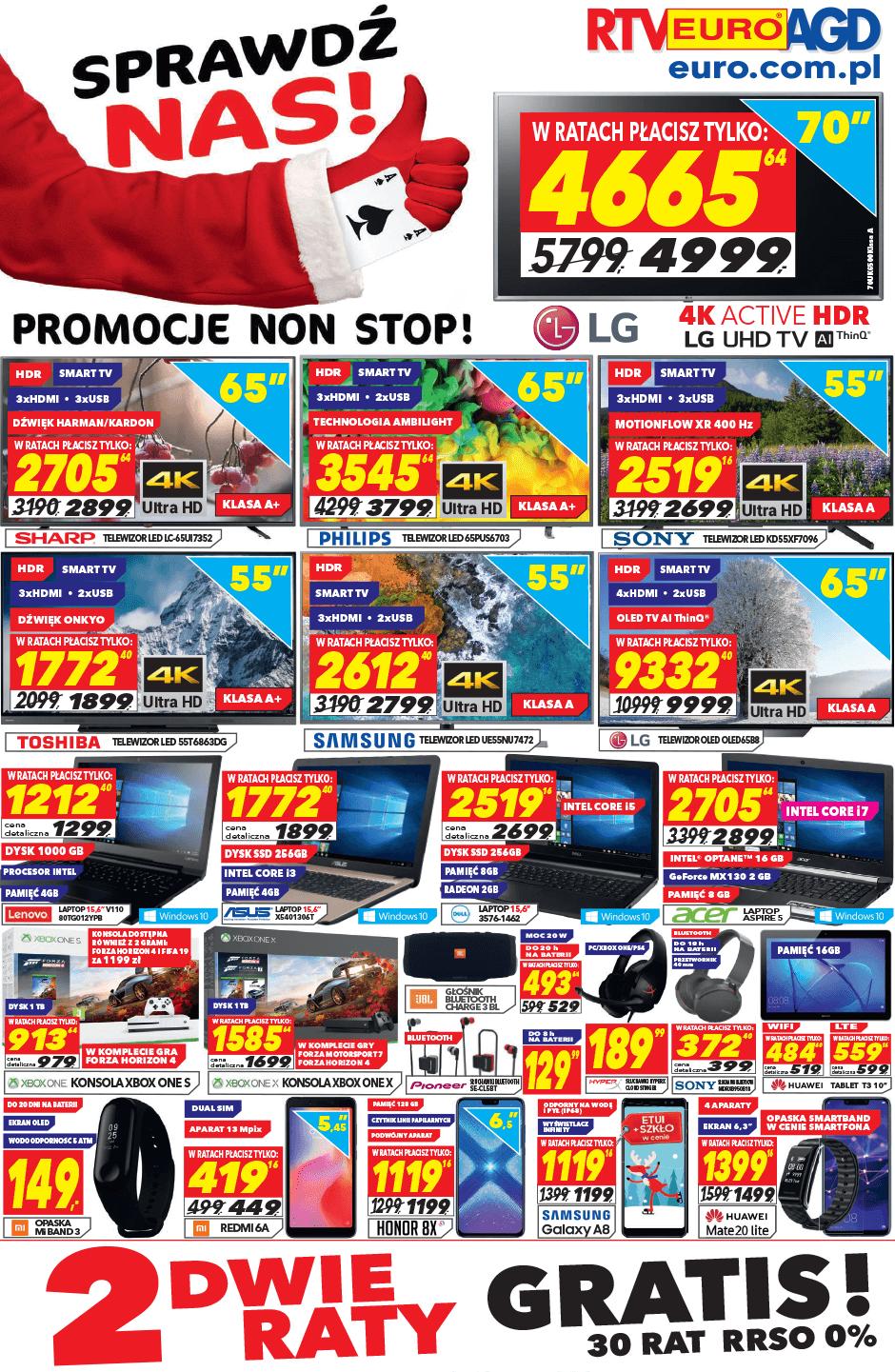 Gazetka promocyjna RTV Euro AGD do 12/12/2018 str.0