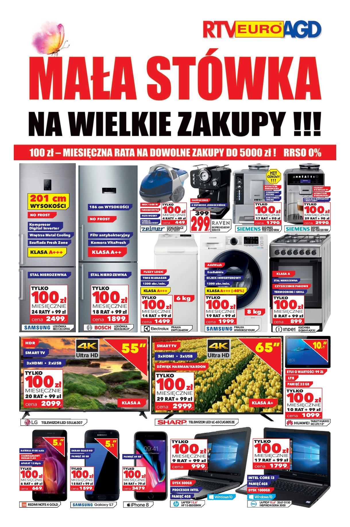 Gazetka promocyjna RTV Euro AGD do 30/08/2018 str.0