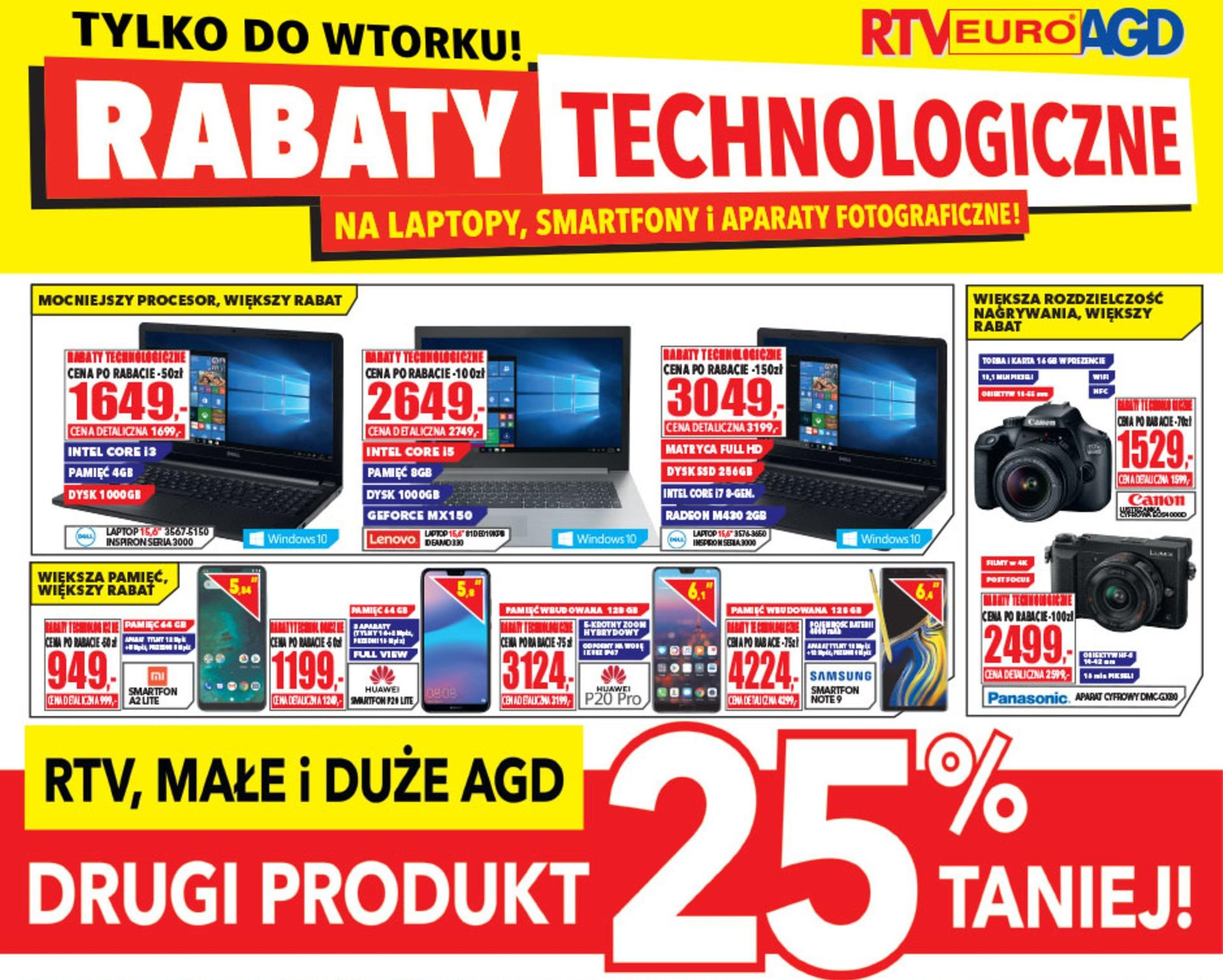 Gazetka promocyjna RTV Euro AGD do 31/10/2018 str.0