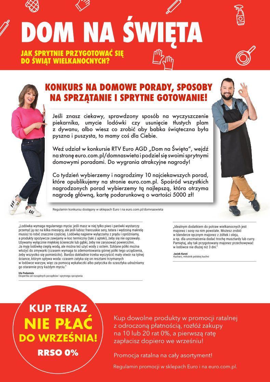 Gazetka promocyjna RTV Euro AGD do 22/04/2019 str.1