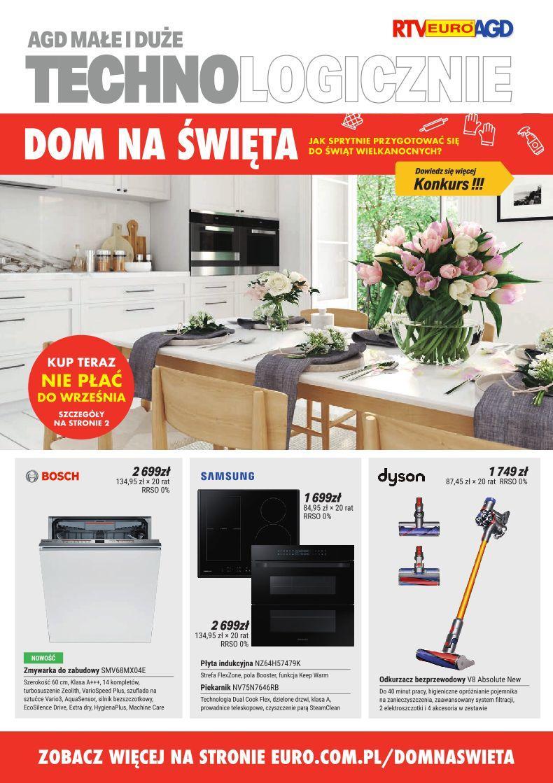 Gazetka promocyjna RTV Euro AGD do 22/04/2019 str.0